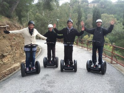 Segway trip to Gibraltaro in Málaga (1 hour)