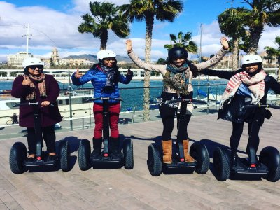 Segway route to fully discover Málaga (2 hours)