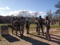 2h airsoft game in Fresno del Torote