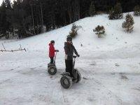 Conducción sobre nieve de Segwa