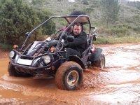 Tour on buggy, Gandia's mountains. Photo/video. 2h