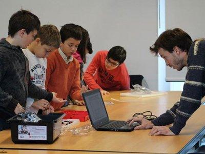 Campamento urbano con impresoras 3D en Bilbao