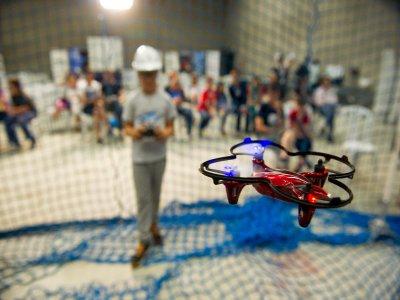 Campamento urbano de drones en Bilbao