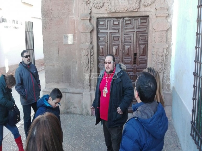 Guided tour of the town