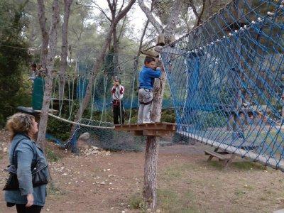 公园的tirolinas塔拉戈纳入口5-7岁