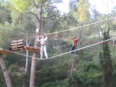 Tirolinas塔拉戈纳森林入口加12年