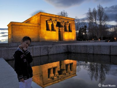 Families gymkhana and visit to Debod Temple 1h 30m