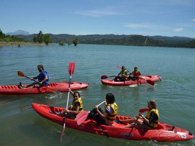 Alquilar un kayak en el embalse de Barasona 1 hora