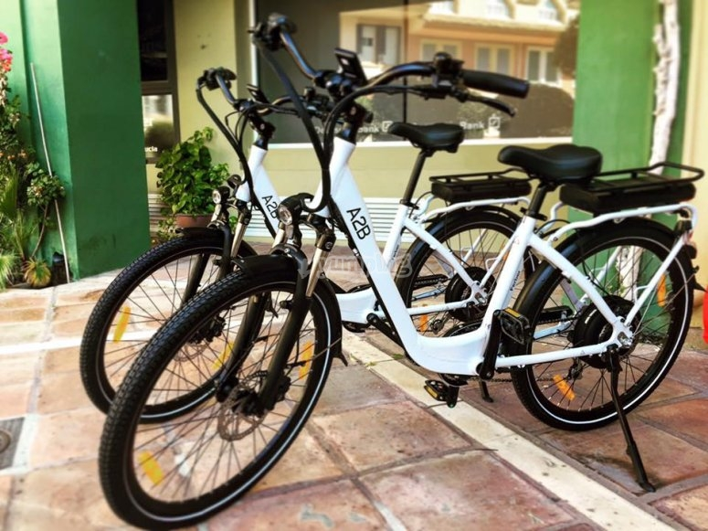 Our new and luxurious e-bikes