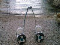 Llegando a las playas