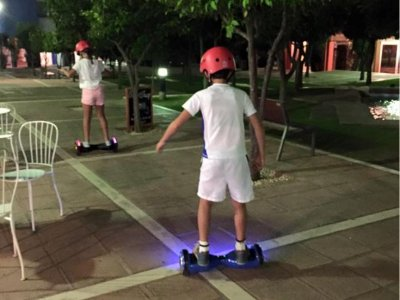 Hoverboard rental in Sotogrande for 1 hour