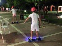 Probando los nuevos hoverboard