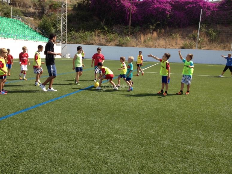 Fútbol en Club Camp