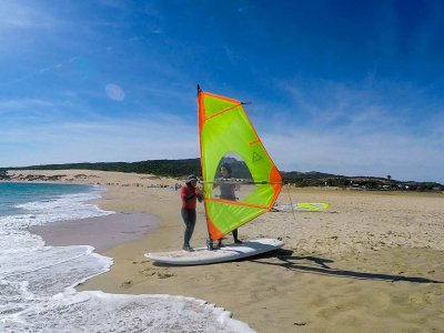 3 windsurfing in lessons in Tarifa