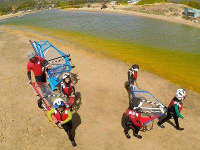 Corso di windsurf per bambini a Tarifa