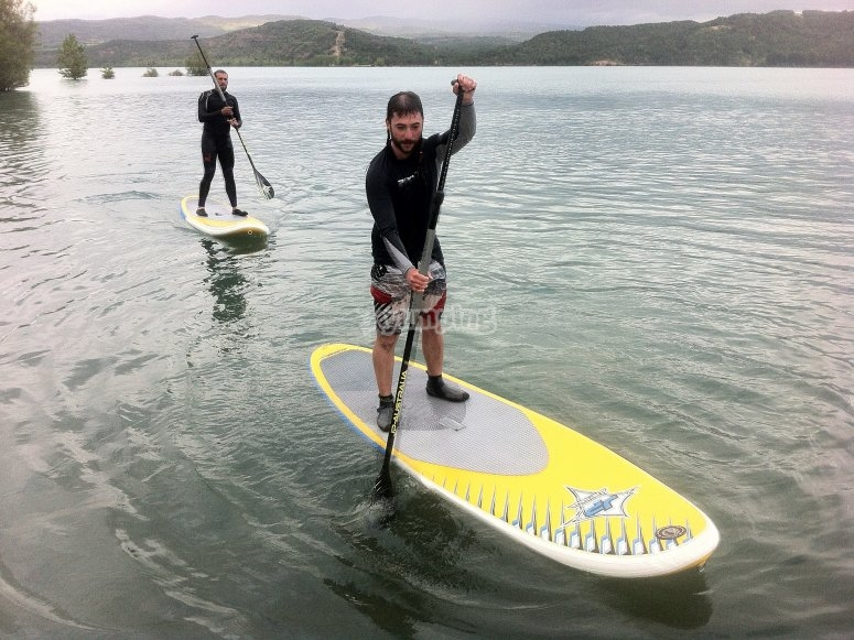 chicos paddle surf