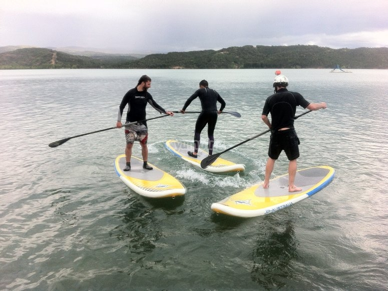 paddle surf en Huesca