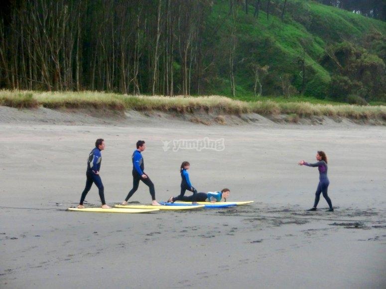 Teoria en la playa de Frejulfe