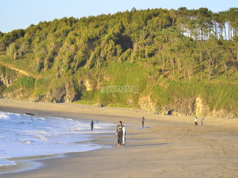 nuestra playa de Frejulfe