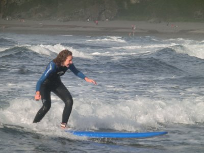 Surfing Frejulfe Beach, 2 Hours