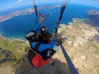 马略卡岛海岸滑翔伞