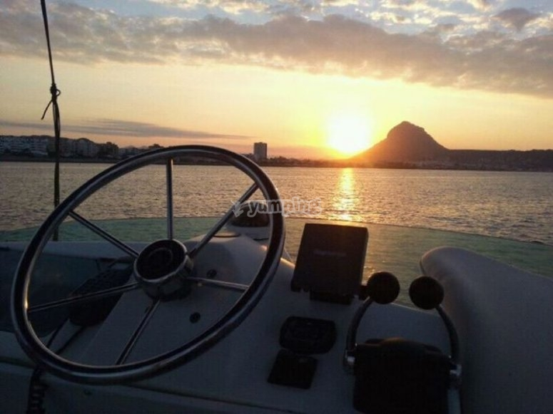 Sunset in Denia