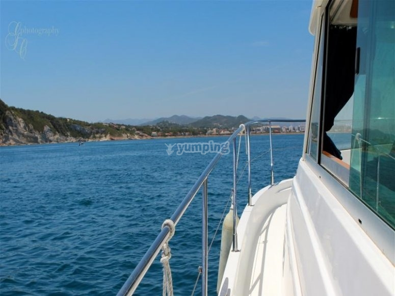 recorrido en barco