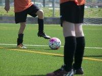 Campo da calcio nel campus