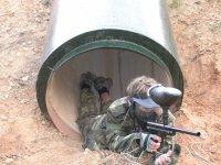 Saliendo del tubo