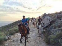 Rutas a caballo por Sierra de Gata