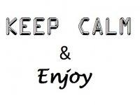 Keep Calm & Enjoy Paddle Surf