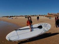 Hacer paddlesurf en la playa de Islantilla 1 hora
