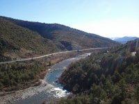 在Ara,Ésera和Gállego河上漂流