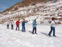 Practica el esqui de fondo