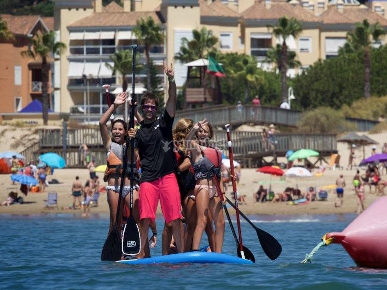 Paddle surf gigante en Huelva