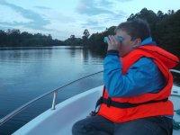 Paseo en lancha por el río Navia 1 hora