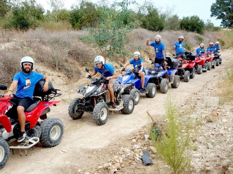 Guided quad tour in Sierra Cabrera
