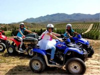 The bride to be on a quad