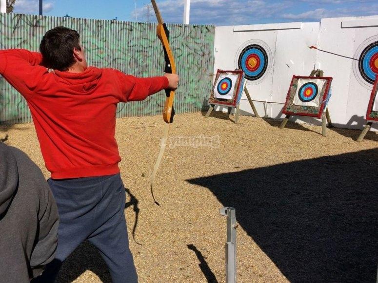 Tiro con arco en Almeria