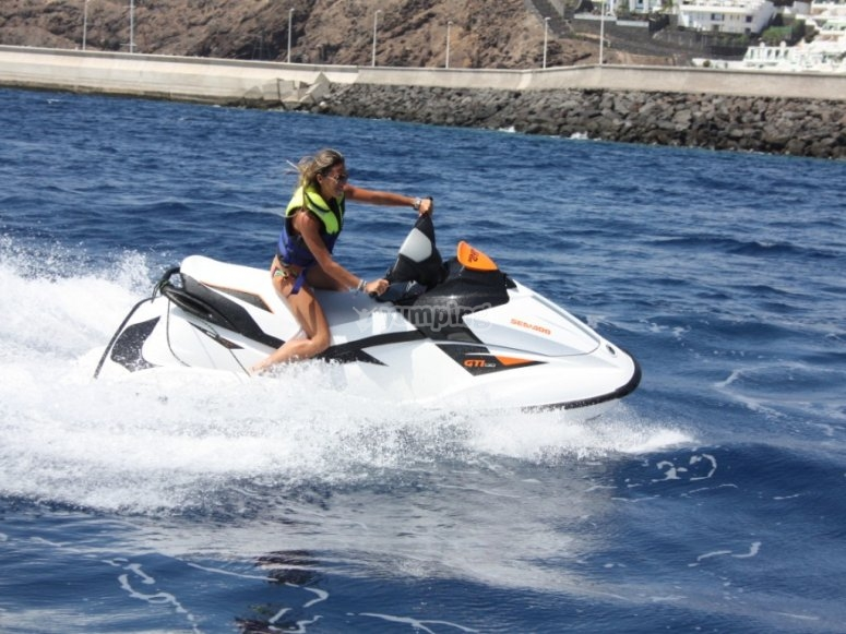 aquatic motorcycle puerto del carmen