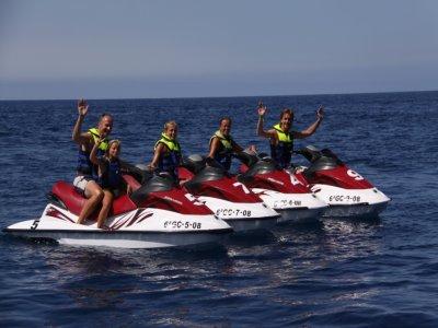 Moto d'acqua per due persone Lanzarote 20 min