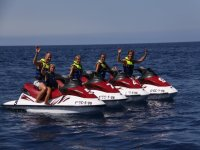 Motos de agua para dos personas  Lanzarote 20 min