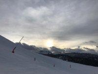 Baqueira滑雪场的