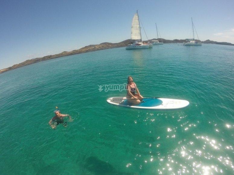Sup y snorkel