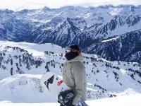 在Bqueira滑雪