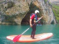 Hacer paddle surf en el Pirineo 90 minutos