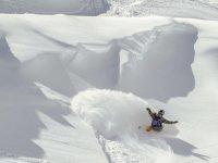 滑雪板下降