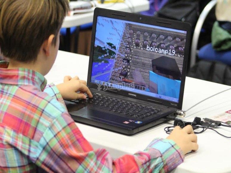 Creating in Minecraft