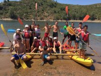 Rowing group