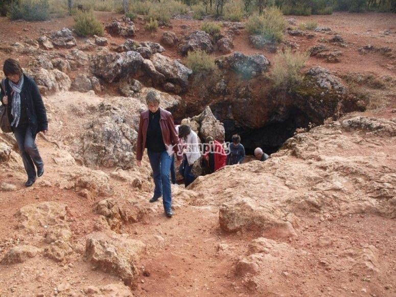 Salimos de la cueva de Montesinos